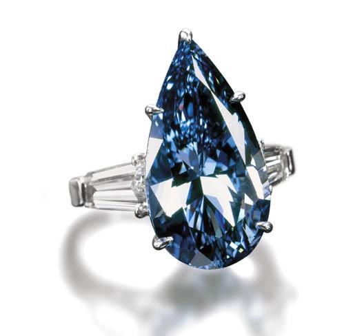 The Blue Magic Diamond
