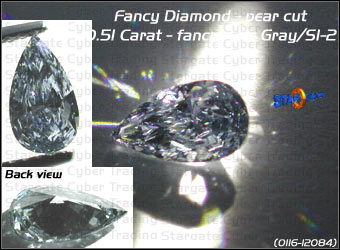 an irradiated what is diamond red