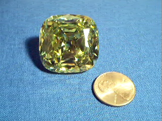 Tiffanyyellowdiamond7g my replica of the tiffany yellow from the now defunct nw diamonds gems which was based in washington state the stone measures 2811 2823 1551 mozeypictures Image collections
